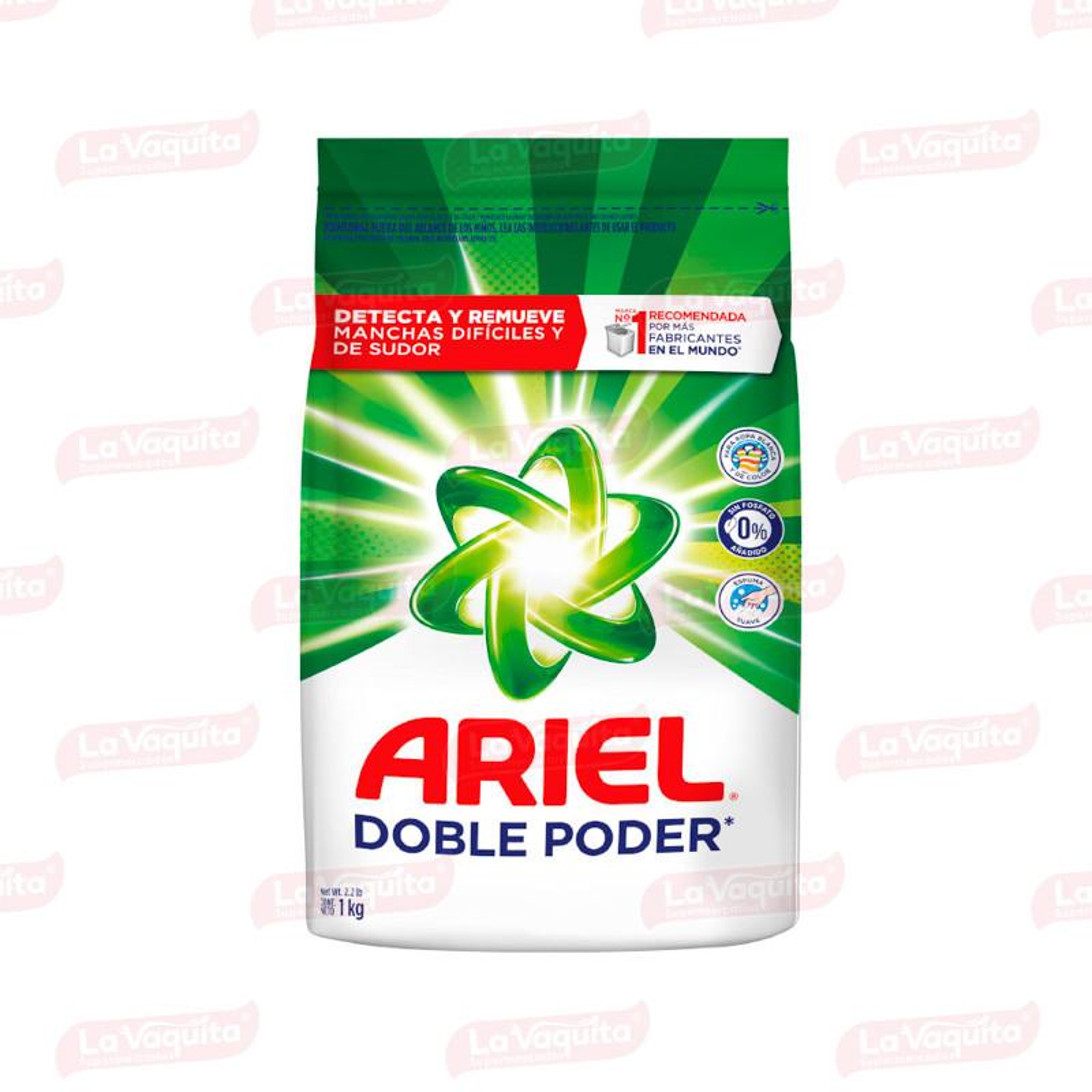 DETERGENTE ARIEL 1000G REGULAR D/PODER