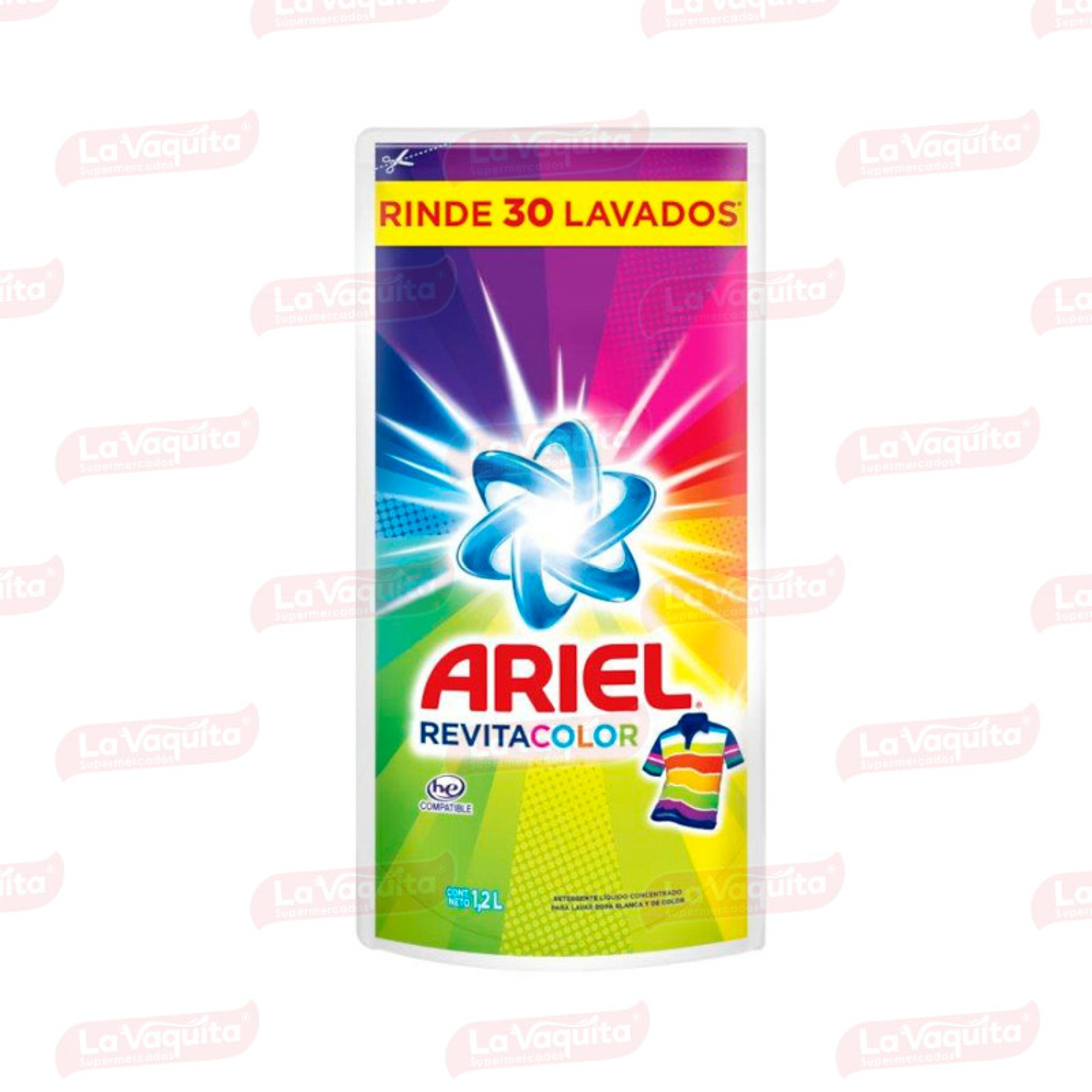 DETERGENTE ARIEL LIQ 1200M D/P REVITACOL