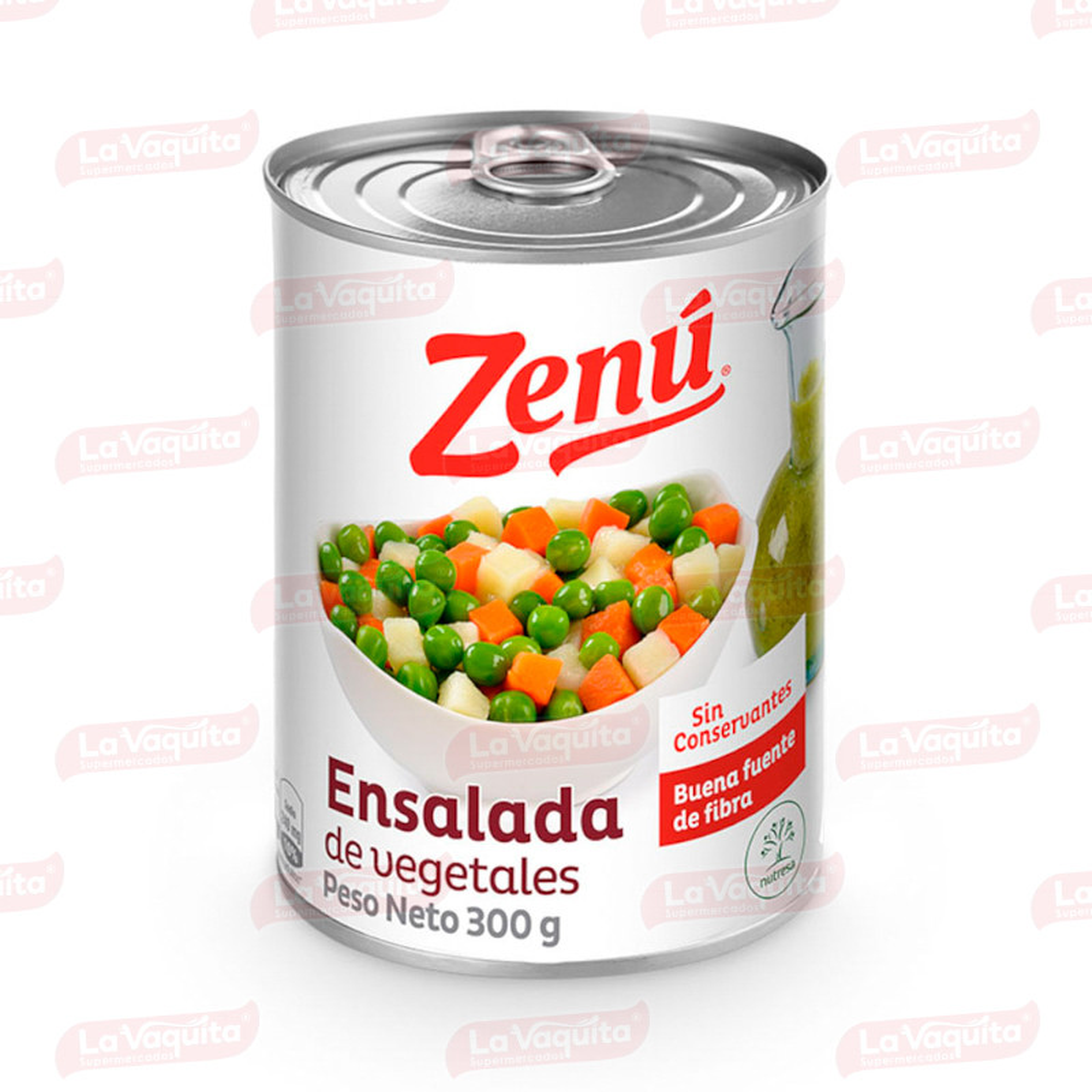 ENSALADA VEGETALES ZENU 300G