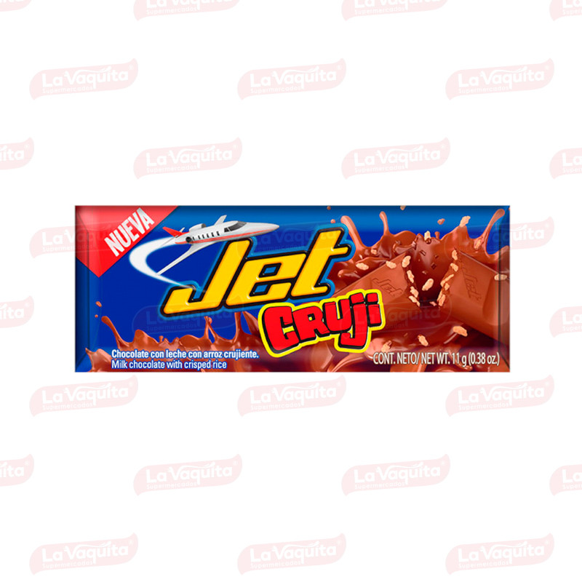 CHOCOLATINA JET 11G CRUJI