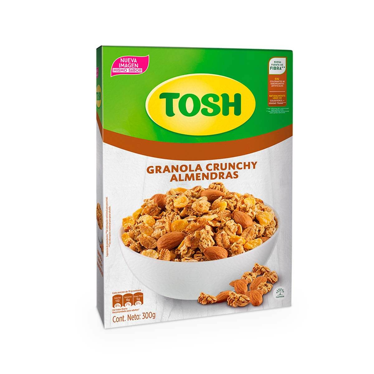 CEREAL TOSH 300G CAJA ALMENDRA