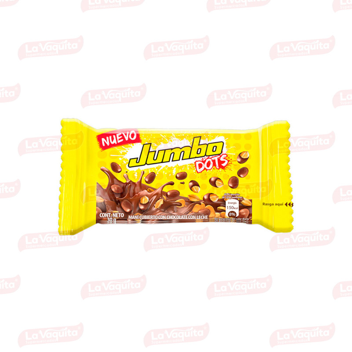 CHOCOLATINA JUMBO 30G DOTS