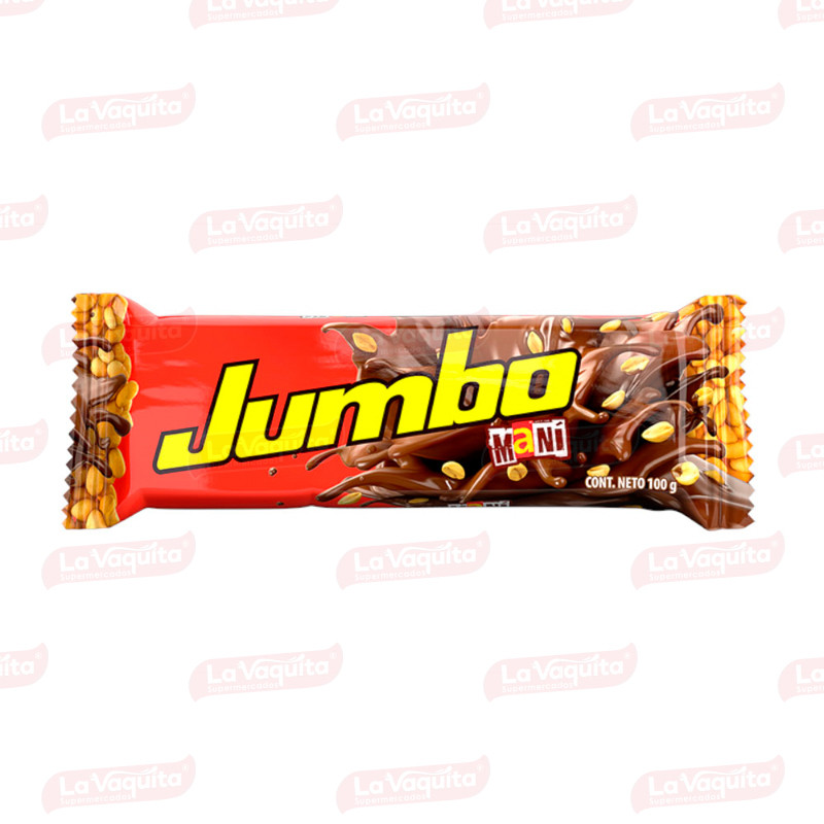 CHOCOLATINA JUMBO 100G MANI