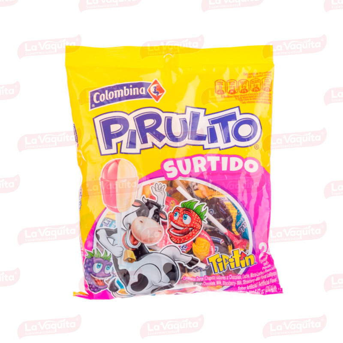 TIPITIN PIRULITO COLOMBINA 24U SURTIDO