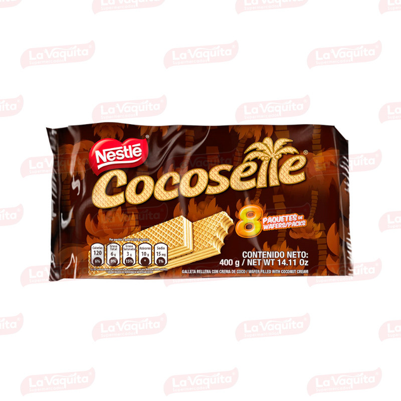 GALLETA COCOSETTE 400G 8U