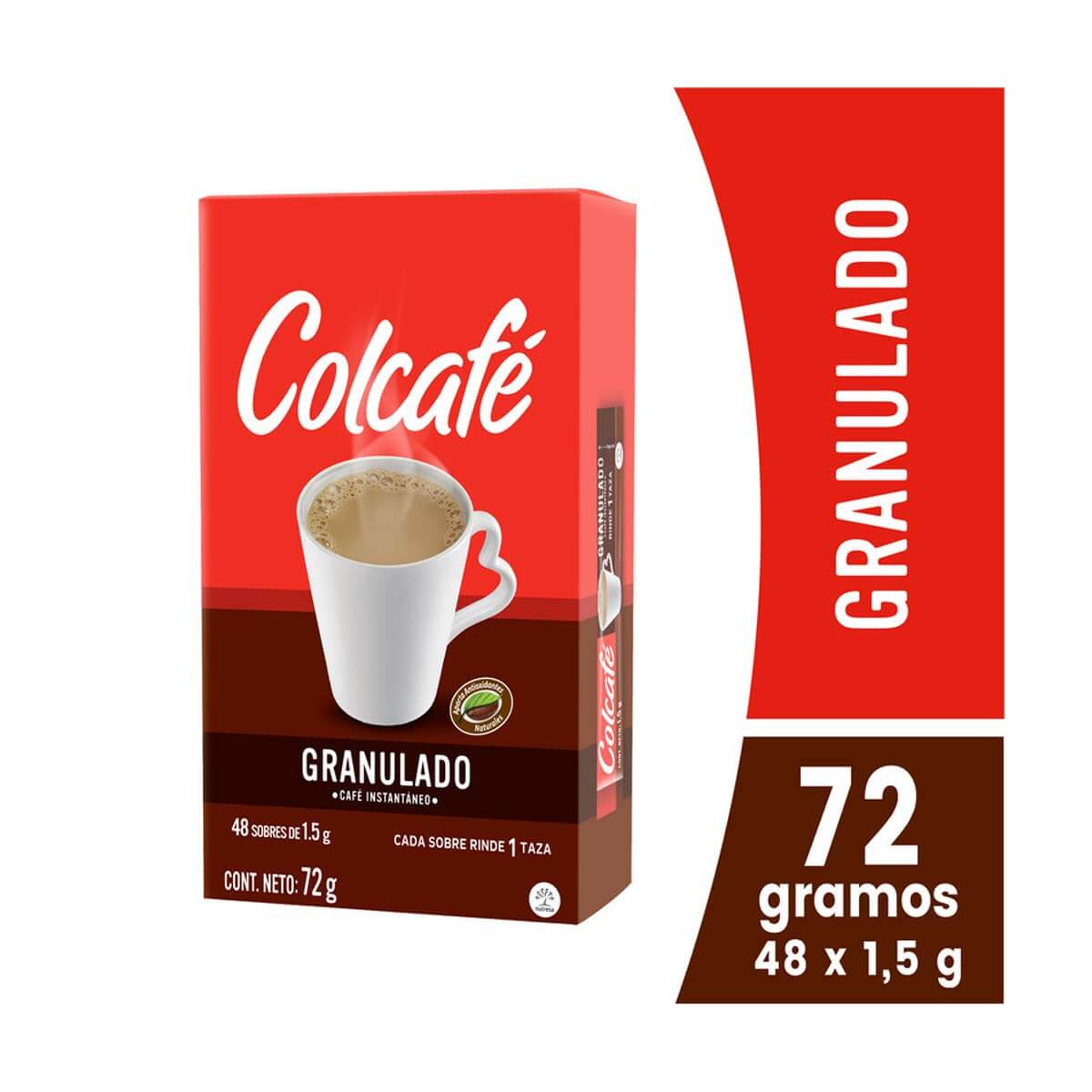 CAFE COLCAFE 72G 48U GRANULADO DISPLAY