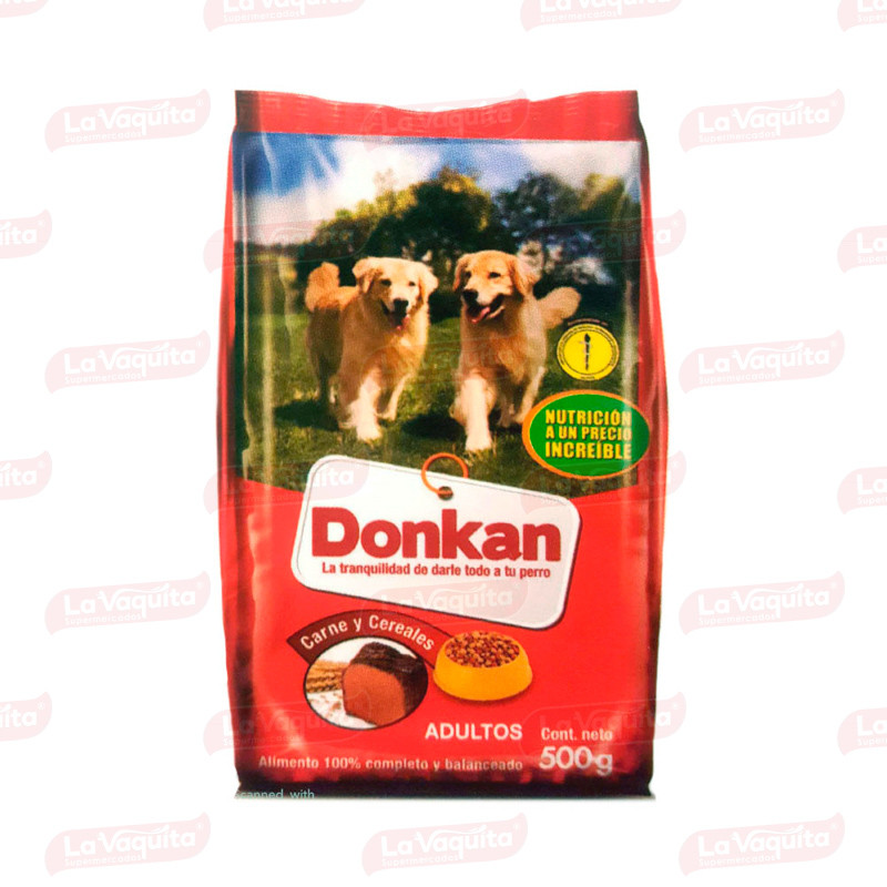CUIDO DONKAN 500G CARNE/CEREALES