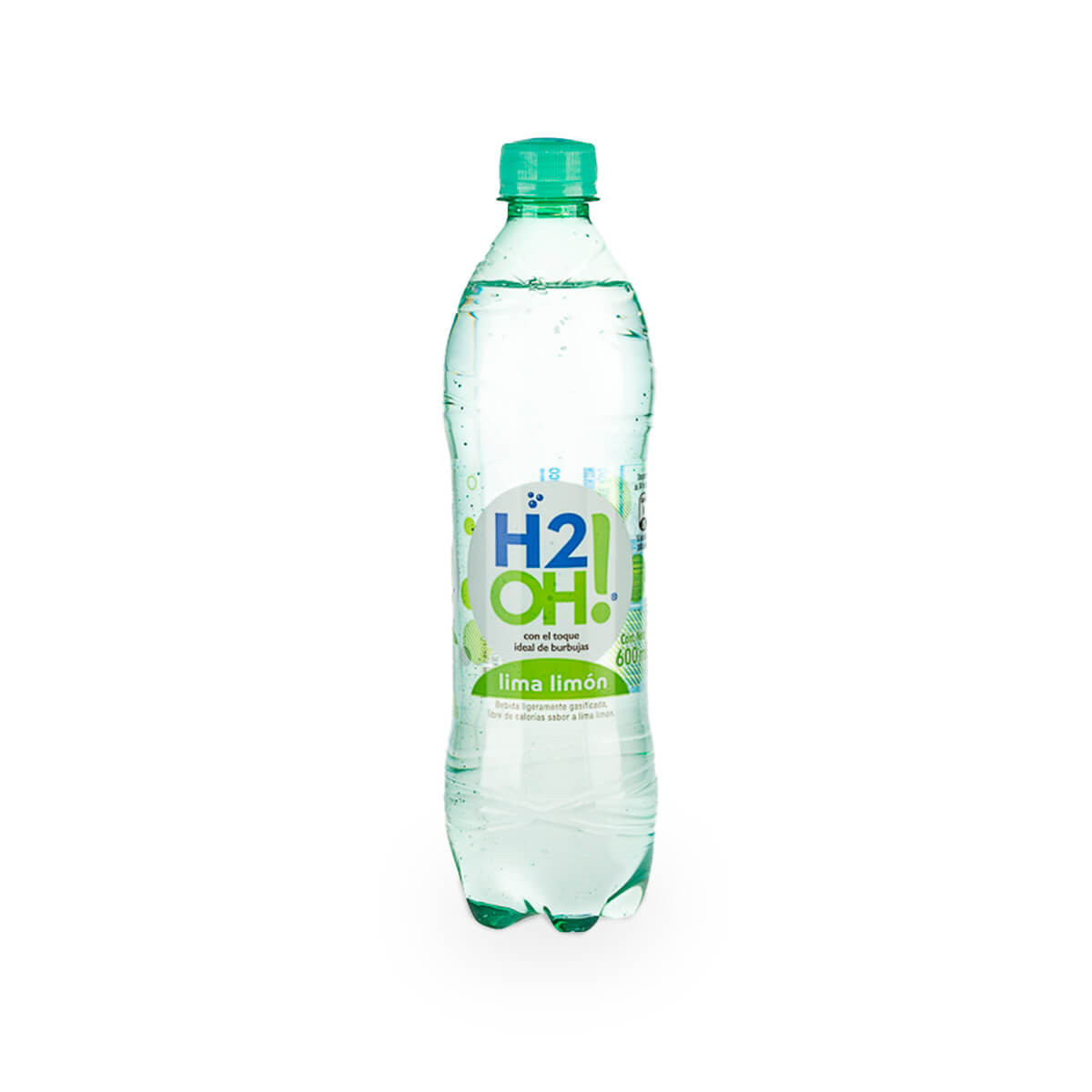 AGUA H2OH 600M LIMON