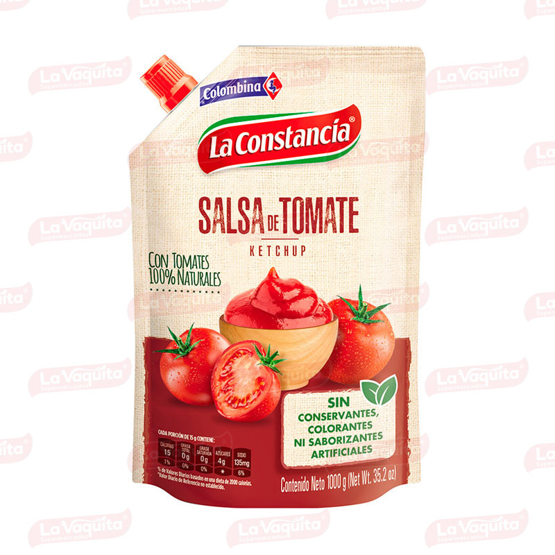 SALSA TOMATE CONSTANCIA 1000G DOYPACK