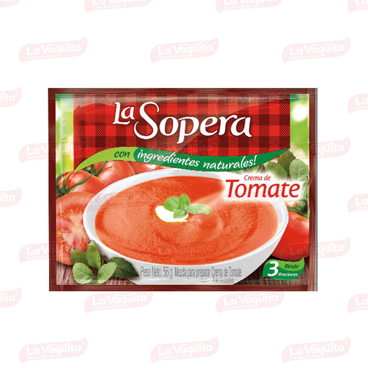 LA SOPERA 56G 3P TOMATE