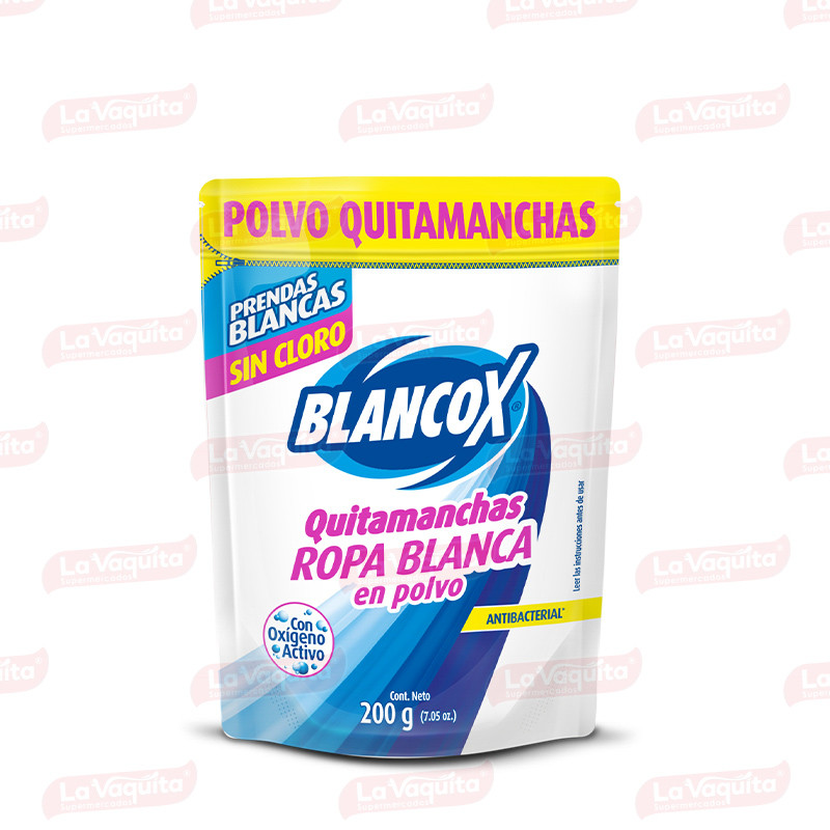 DESMANCHADOR BLANCOX 200G POLVO S/CLORO