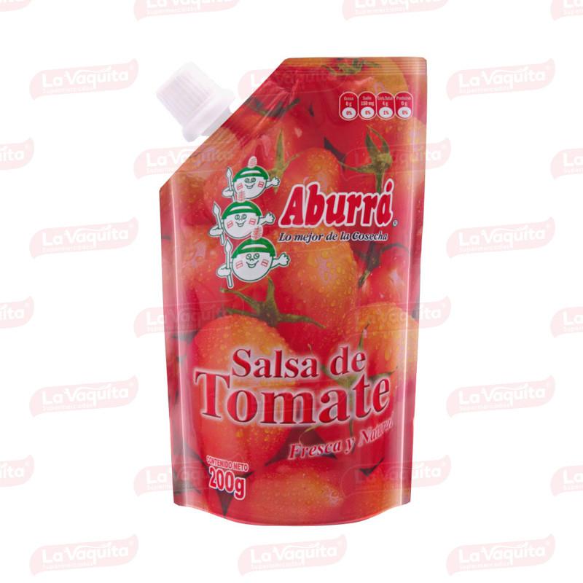 SALSA TOMATE ABURRA 200G DOYPACK