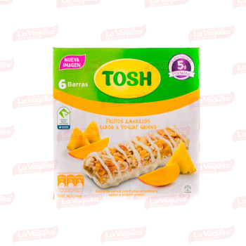 CEREAL TOSH 150G 6U BARRA FRUTOS AMARILL
