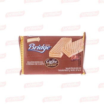 GALLETA BRIDGE 87G COFFEE DELIGHT