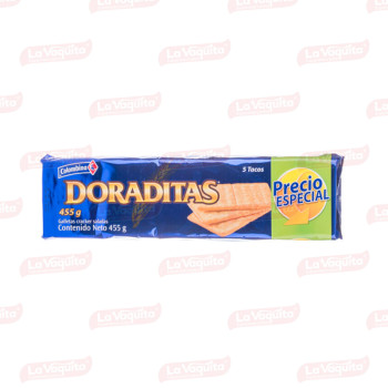 GALLETA COLOMBINA 455G 5T DORADITAS