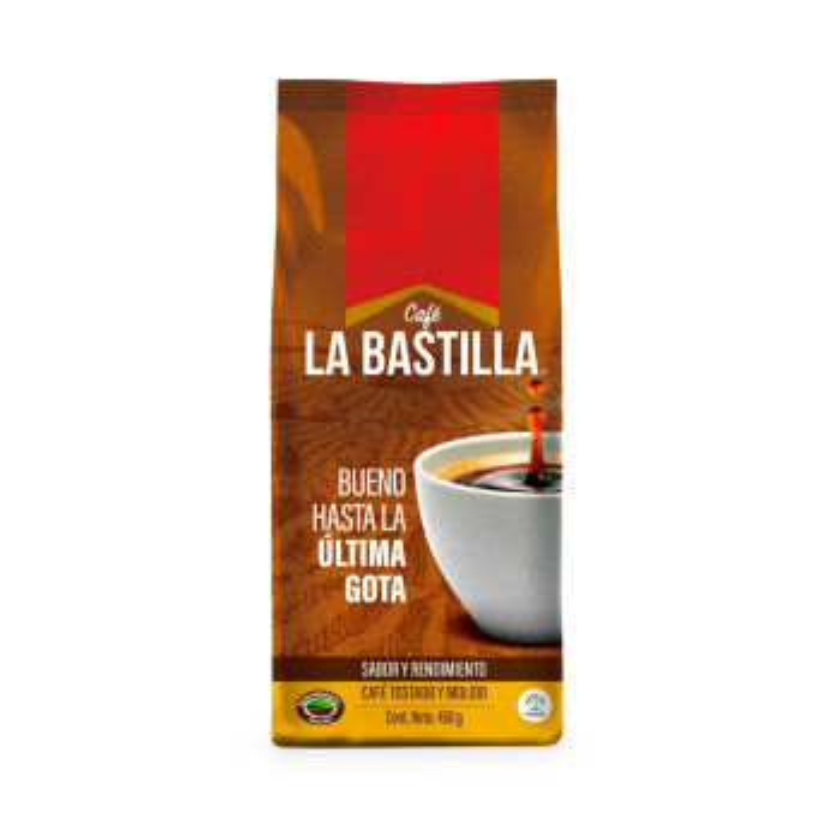 CAFE BASTILLA 450G TOSTADO/MOLIDO