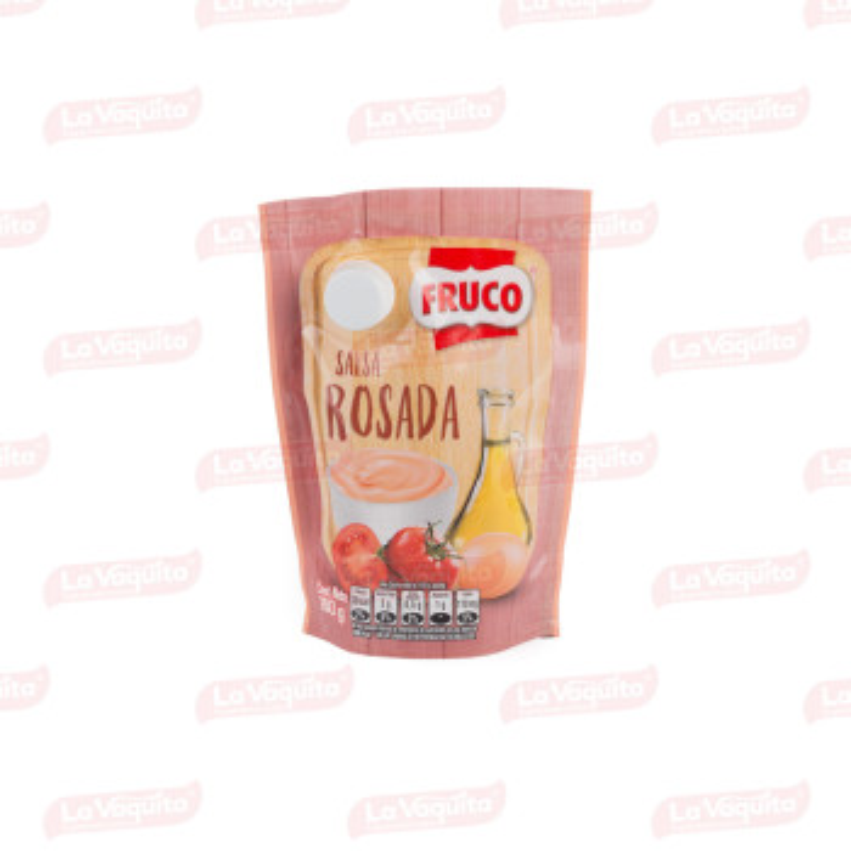 SALSA ROSADA FRUCO 180G