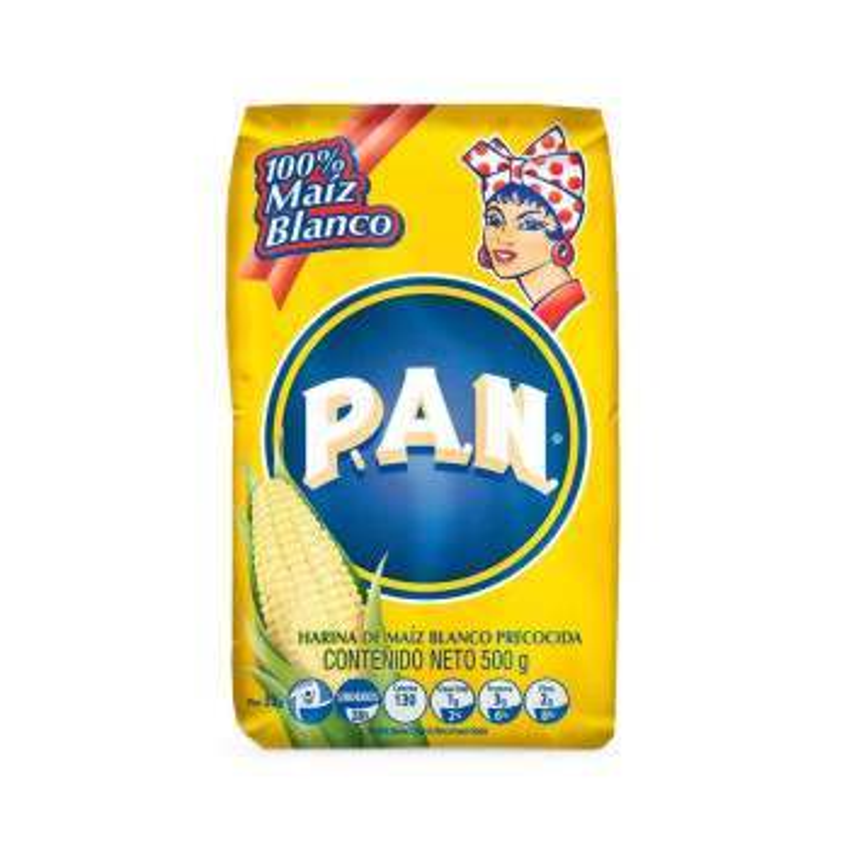 HARINA PAN 500G BLANCO