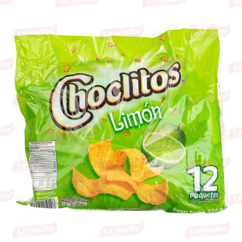 CHOCLITO 324G 12U LIMON