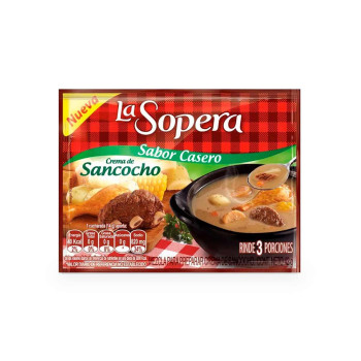LA SOPERA 42G 3P SANCOCHO