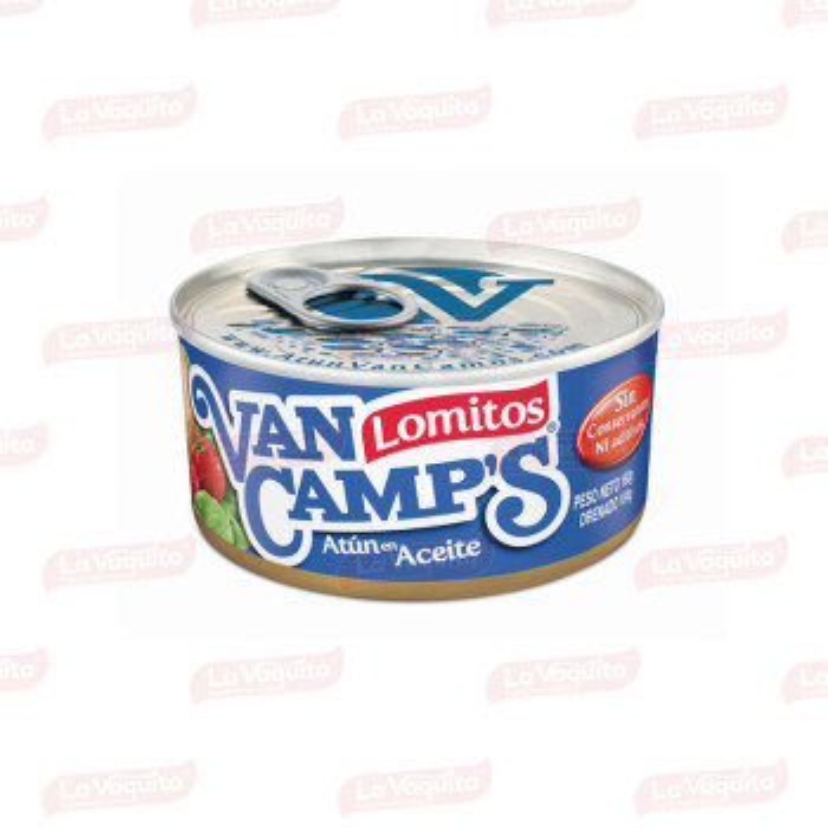 ATUN VANCAMPS 160G LOMITO ACEITE