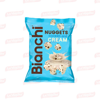 CARAMELO BIANCHI 48G NUGGETS COOKIES/CRE