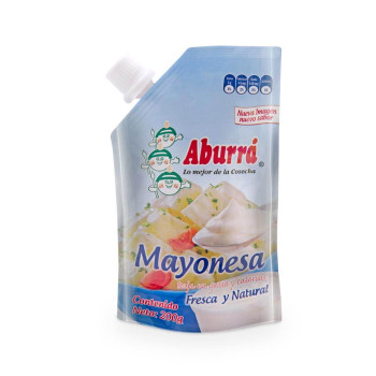 MAYONESA ABURRA 200G