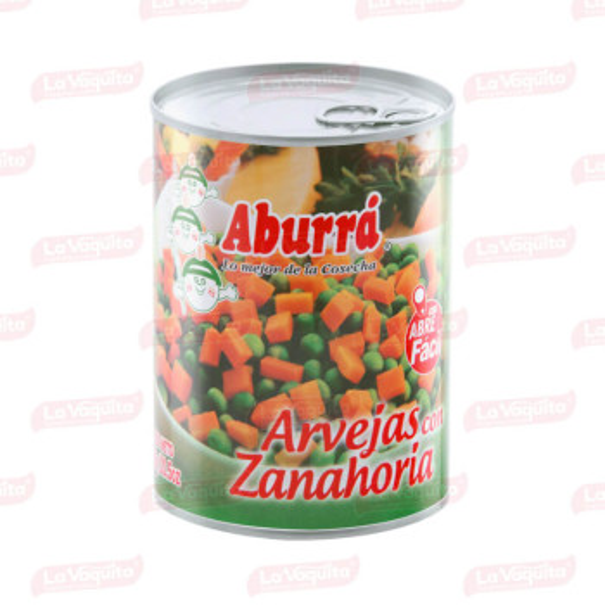 ARVEJA ZANAHORIA ABURRA 580G