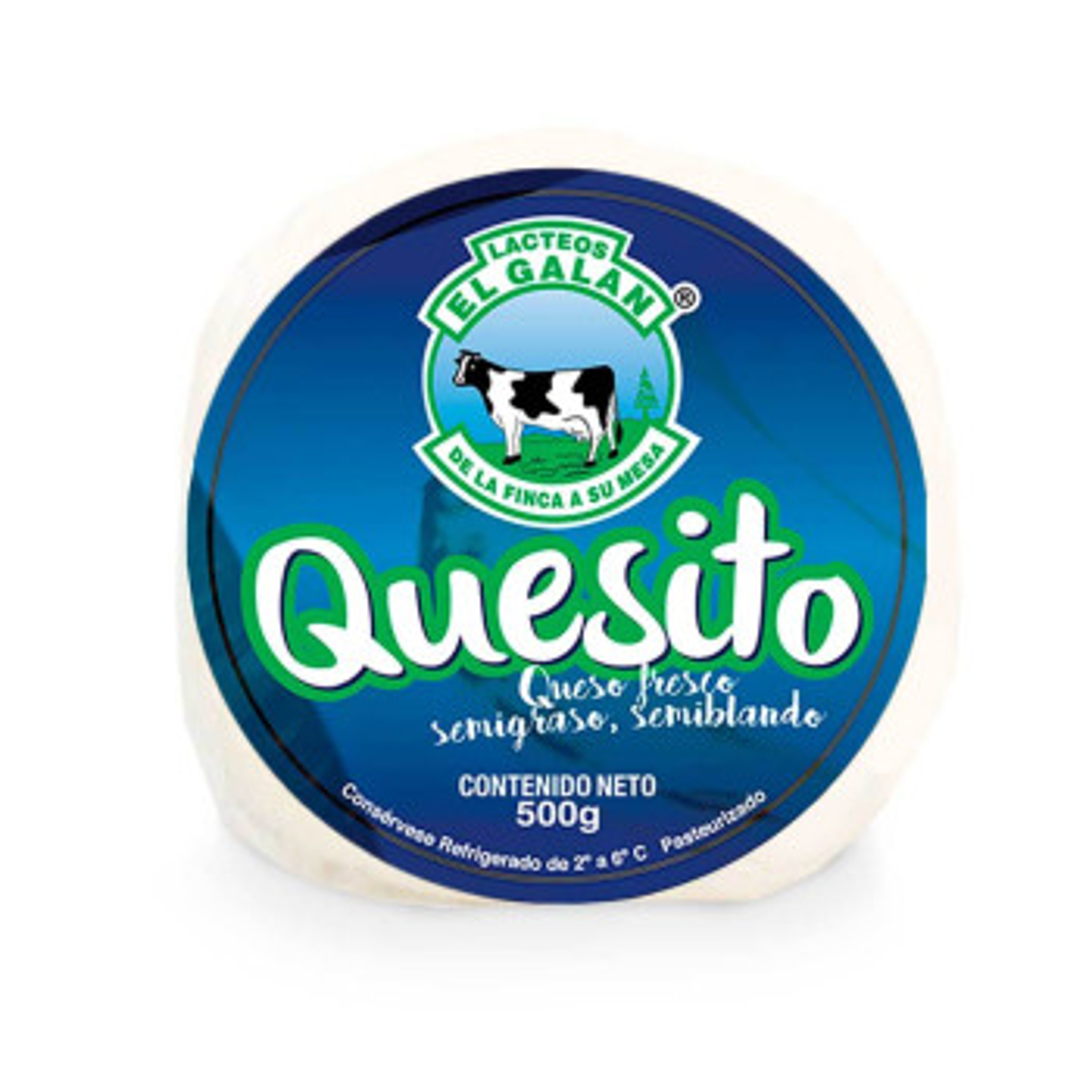 QUESITO GALAN 500G REDONDO