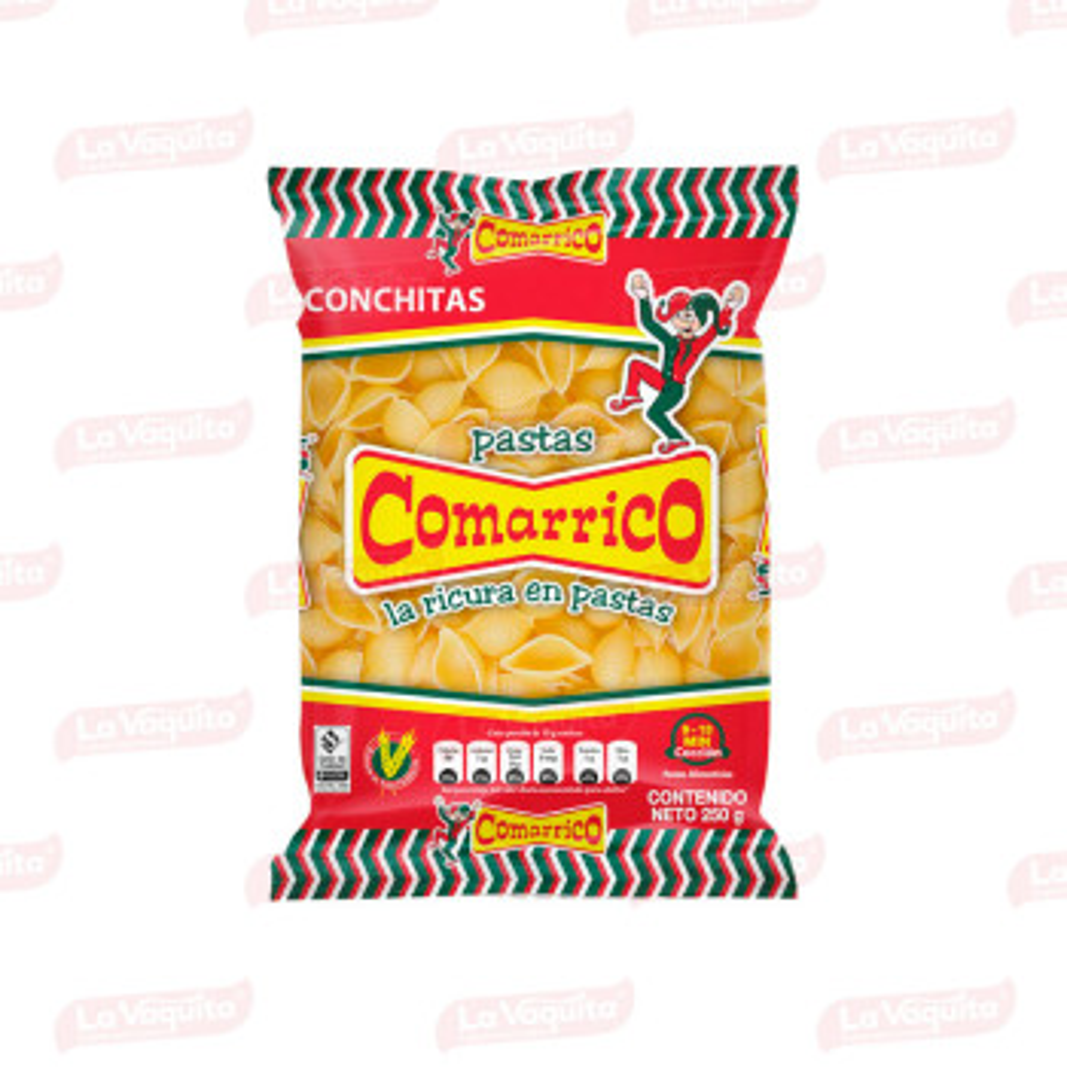 PASTA COMARRICO 250G CONCHITAS