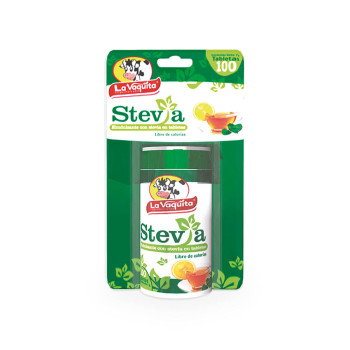 ENDULZANTE VAQUITA 100T STEVIA DISPENSAD