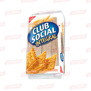 GALLETA CLUBSOCIAL 234G 9U INTEGRAL